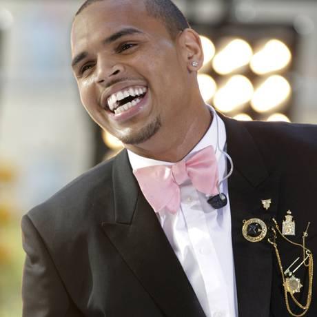 O cantor americano Chris Brown Foto: Reuters