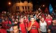 Representantes das polícias Militar, Civil e dos Bombeiros anunciaram uma greve no fim da noite da quinta-feira