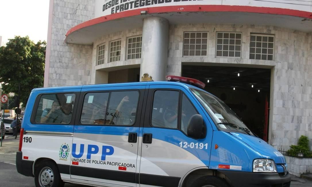 De acordo com a assessoria de imprensa das UPPs, apenas as unidades do Morro da Formiga e do Morro do Borel apresentaram problemas Foto: Guilherme Pinto / Extra