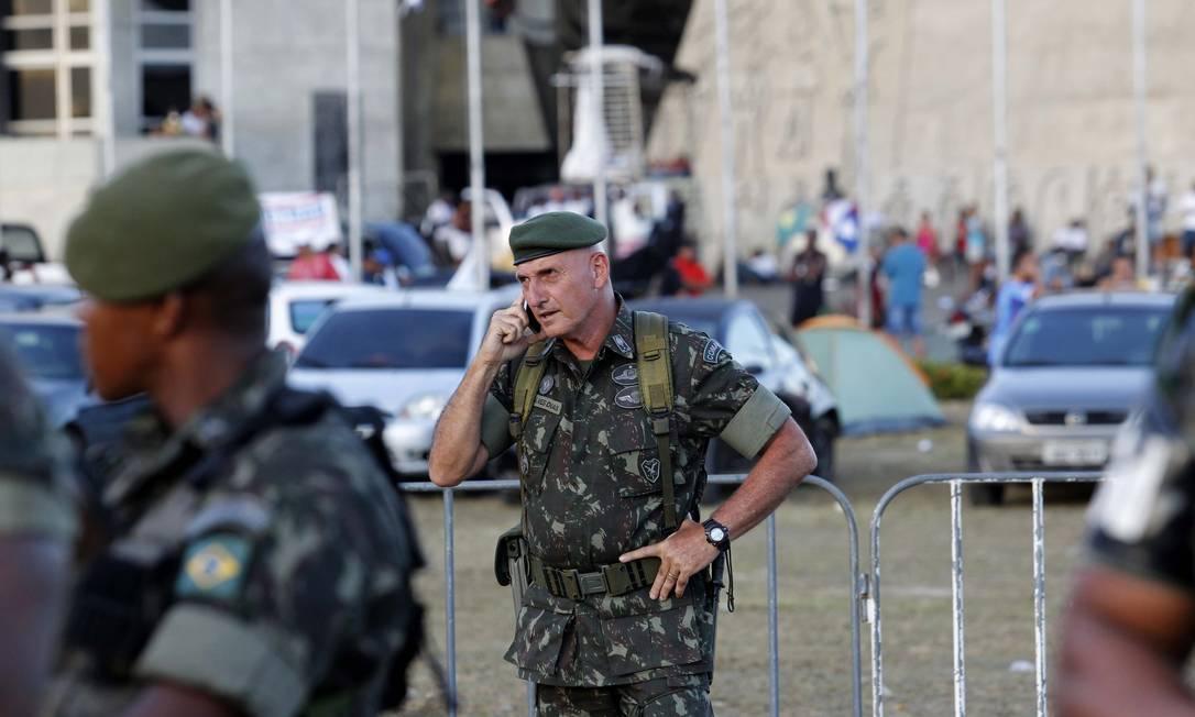 General Gonçalves Dias é ex-chefe da segurança do ex-presidente Lula Foto: Marcelo Carnaval / Arquivo O Globo