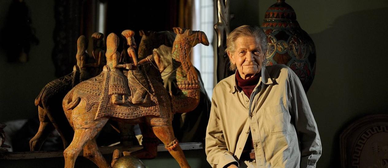 Wynn Chamberlain, autor do satírico filme 'Brand X', relíquia pop que ficou desaparecida por 40 anos Foto: Agência O Globo