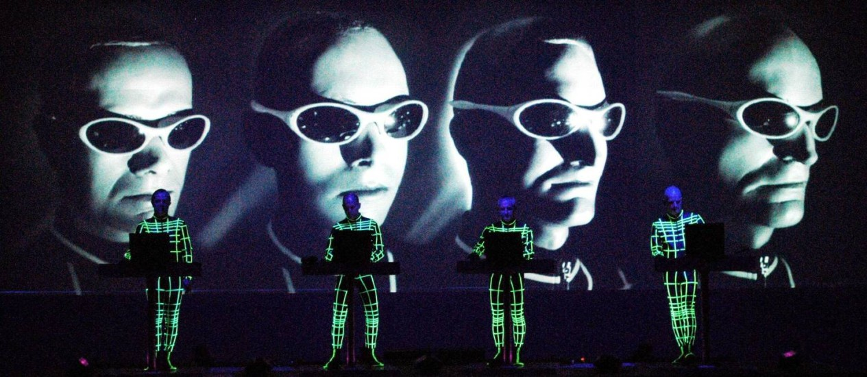 Kraftwerk no palco Foto: Divulgação