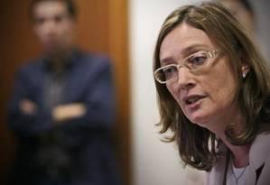 Ministra-chefe da Secretaria de Direitos Humanos, Maria do Rosário Foto: André Coelho / O Globo