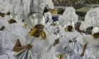 A alegria das baianas do Tuiuti Foto: Felipe Hanower / O Globo