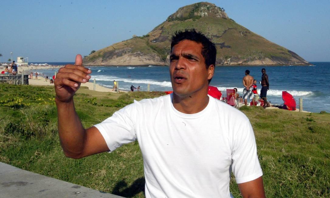 Cabo Benevenuto Daciolo, em foto de arquivo Foto: Eurico Dantas - 2008 / O Globo
