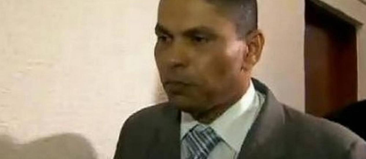 Mizael estava foragido desde dezembro de 2010, quando teve a prisão decretada pela Justiça Foto: Reproduão de imagem / TV Globo