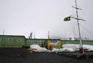 Estação Antártica Comandante Ferraz (EACF) Foto: Reuters