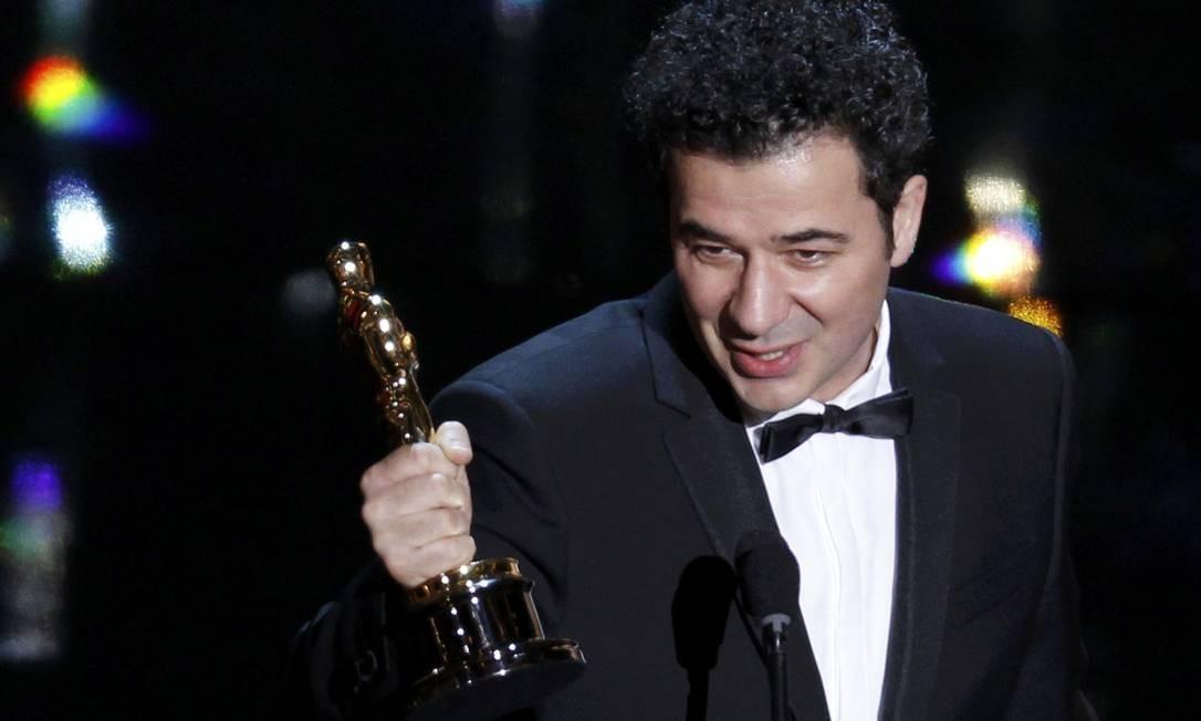 O compositor francês Ludovic Bource foi o ganhador na categoria trilha sonora original, com 'O artista' Foto: Reuters/Divulgação