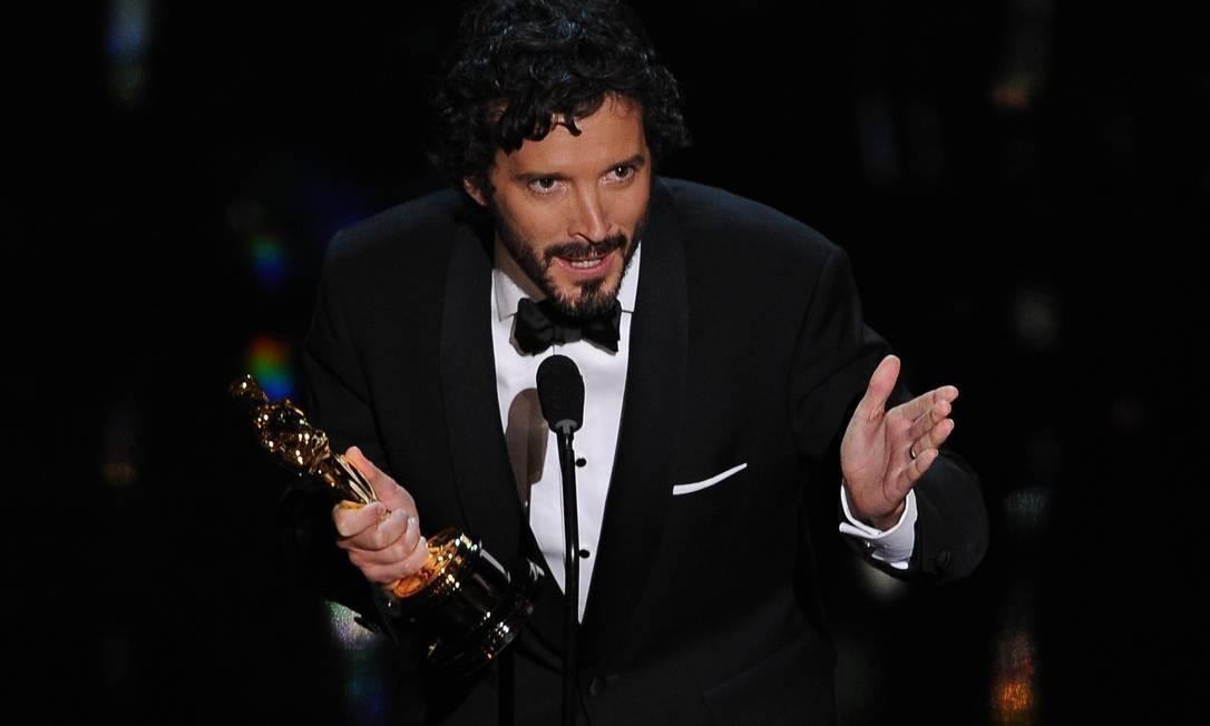 O prêmio de canção original foi para Bret McKenzie com a música 'Man or Muppet' do filme 'Os Muppets' Foto: AFP/Divulgação