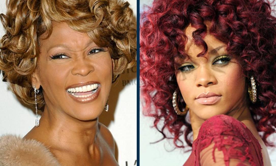 Rihanna pode viver Whitney Houston no cinema Foto: Reprodução