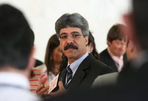 O ex-ministro da pesca, Luiz Sérgio Foto: O Globo / André Coelho