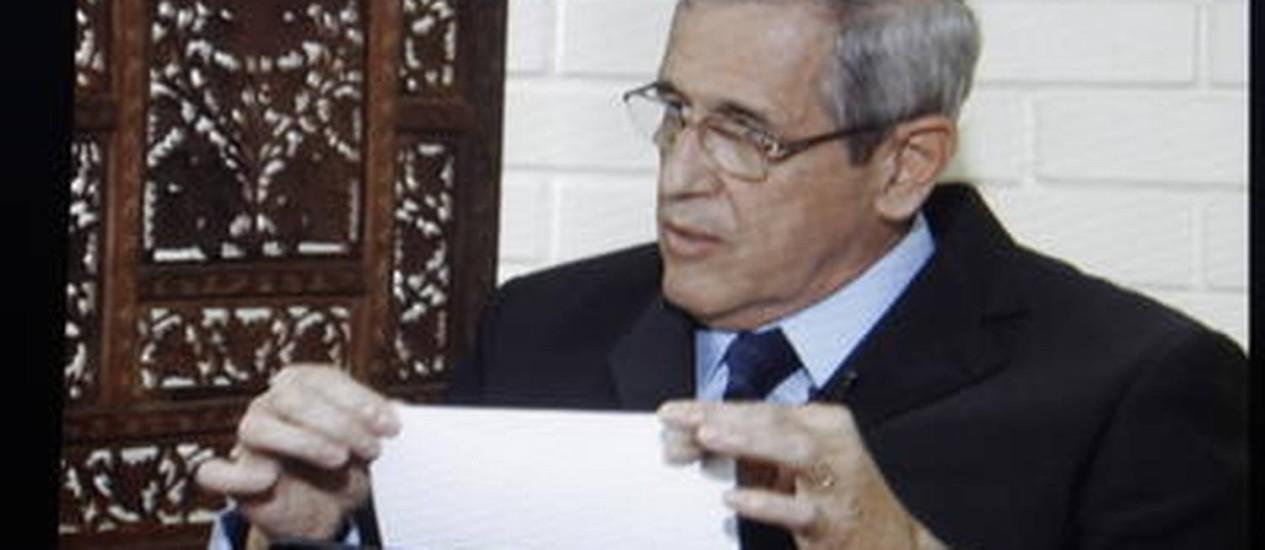 General Luiz Eduardo Rocha Paiva Foto: Reprodução TV