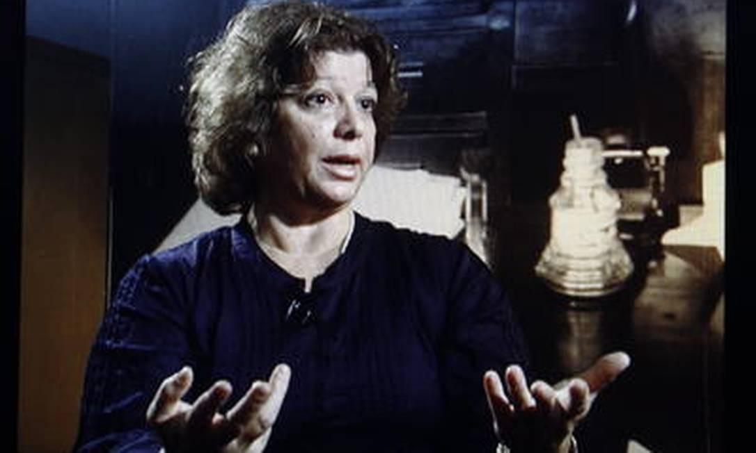 Eliana Paiva, filha do deputado Rubens Paiva, desaparecido durante a ditadura militar Foto: Reprodução TV