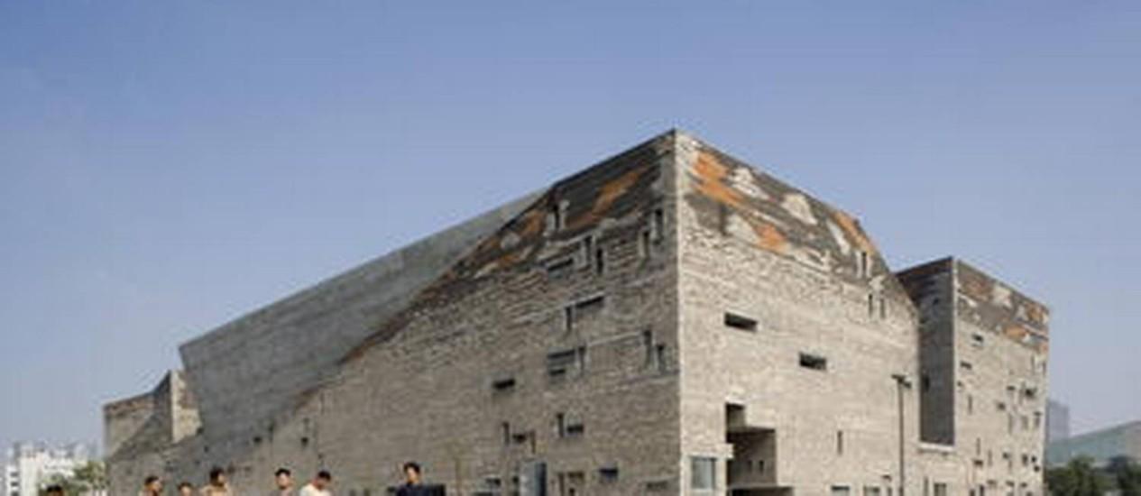 Museu Histórico Nacional de Ningbo, na China Foto: Divulgação