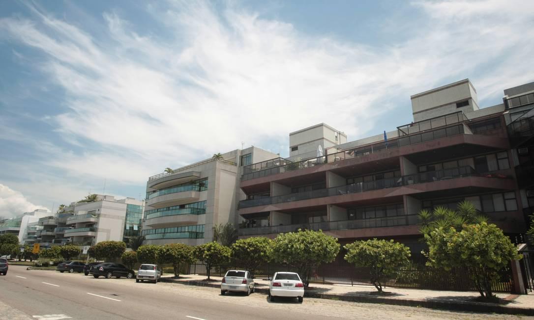 Já no Recreio (foto) e na Barrinha, a ocupação se dá por prédios mais baixos (de três a seis andares, como permite o gabarito da Avenida Lucio Costa) Hudson Pontes