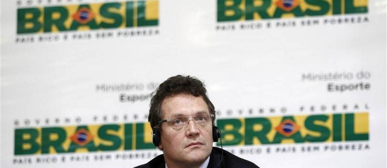 Valcke: frase controvertida não foi dita em francês, como ele explicara antes Foto: Reuters
