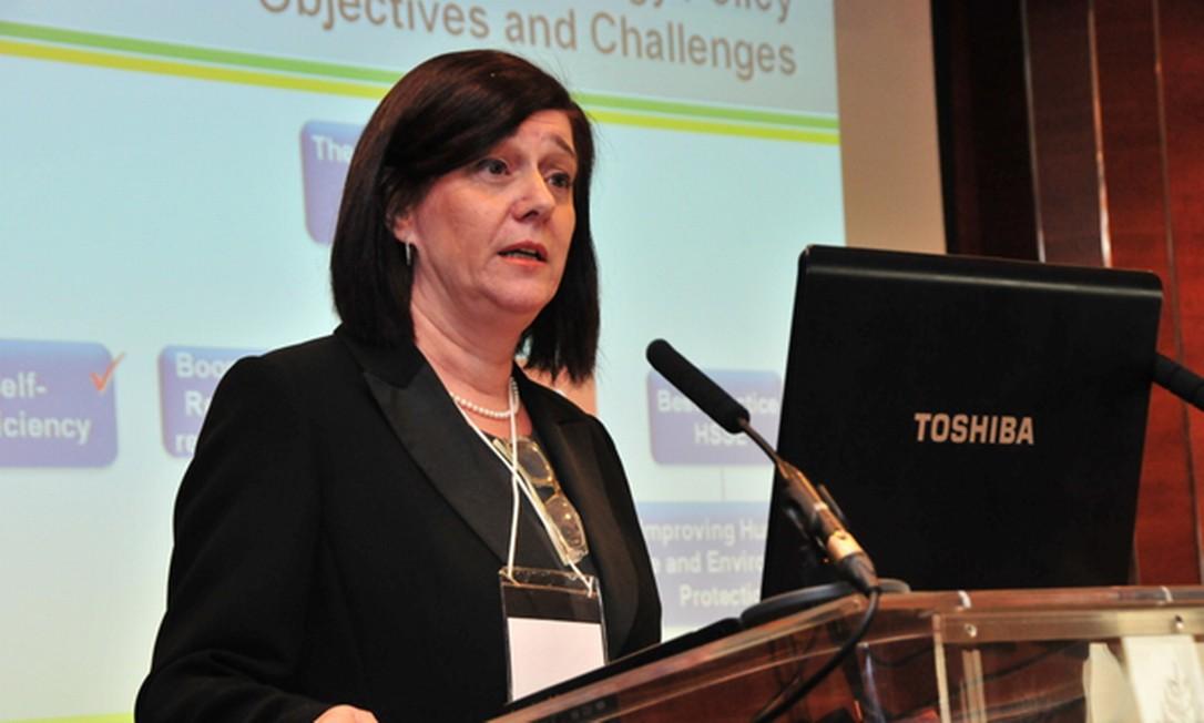 Magda Chambriard, diretora da Agência Nacional do Petróleo, nomeada por Dilma para comandar a ANP Foto: Divulgação