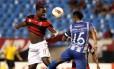 Flamengo e Emelec se enfrentaram nesta quinta-feira, no Engenhão, pelo Grupo 2 da Libertadores