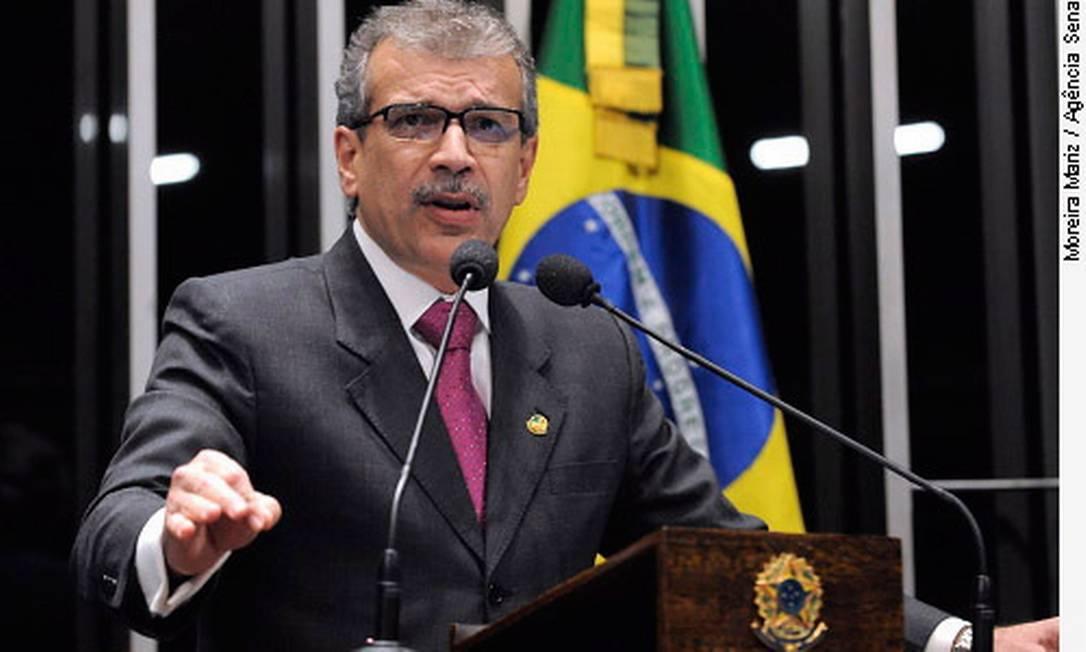 João Vicente, senador do PTB do Piauí, paga com recursos públicos uma banca de advogados Foto: Divulgação / Agência Senado