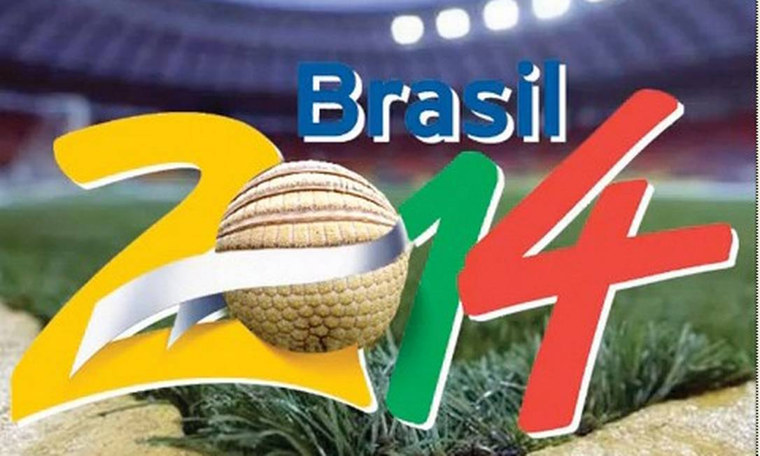 Tatu-bola será o mascote da Copa do Mundo de 2014 Foto: Divulgação