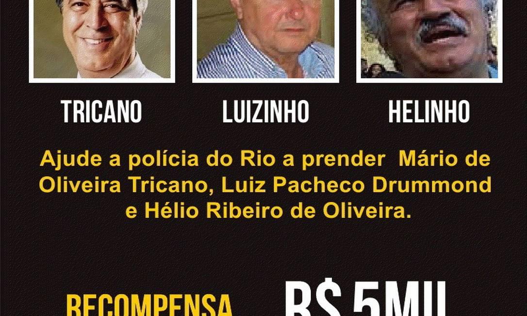 Mario Tricano Foto: Disque-Denúncia / Divulgação