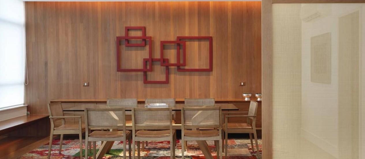Moveis De Sala De Jantar Em Uba Mg ~  ganha paredes, móveis, piso da sala de jantarFoto Divulgação