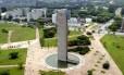 Praça do Relógio, no campus da Universidade de São Paulo (USP)