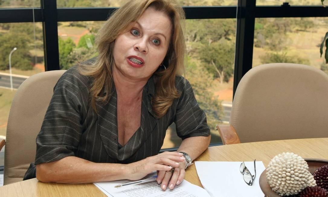 """Sandra Cureau: """"Não me parece que o espírito da lei fosse liberar geral candidatos cujas contas têm vícios insanáveis"""" Foto: O Globo / Givaldo Barbosa"""