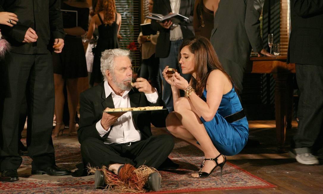 Reginaldo Faria e Cristiane Torloni em 'Beleza Pura'
