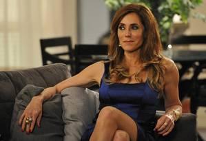 Christiane Torloni em cena como Tereza Cristina Foto: TV Globo / Alex Carvalho