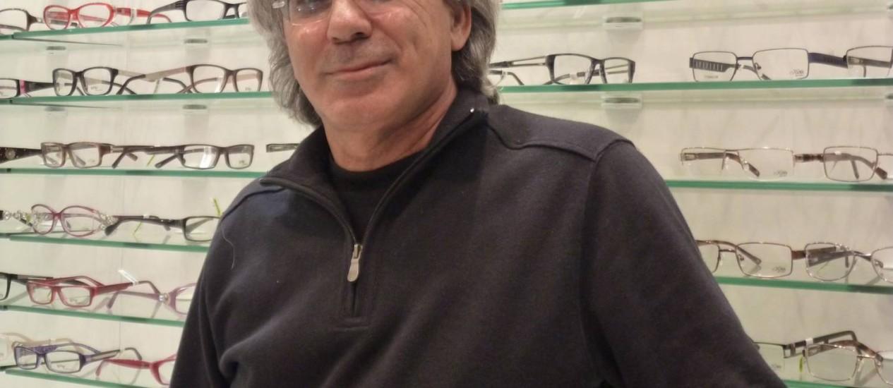 Uri Polat, professor israelense: aplicativo para recuperar vista cansada Foto: Daniela Kresch