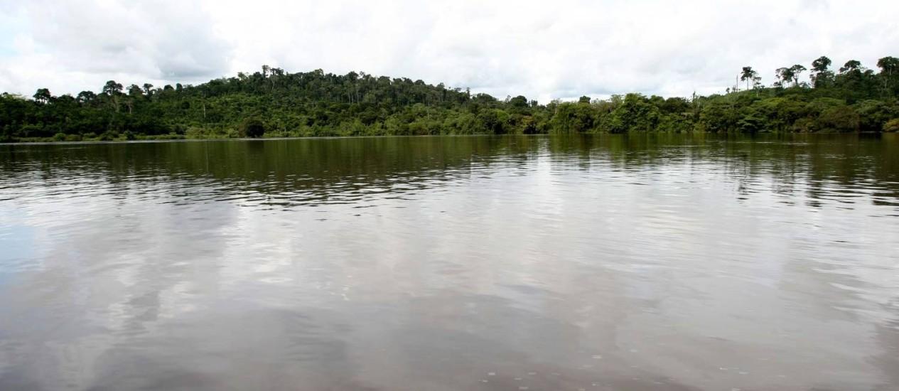 Rio Xingu após a construção de Belo Monte: segundo Conselho de Defesa dos Direitos da Pessoa Humana, conflitos e violência aumentaram muito na região de Altamira, após a construção da hidrelétrica Foto: Ailton de Freitas/08-04-2010 / O Globo