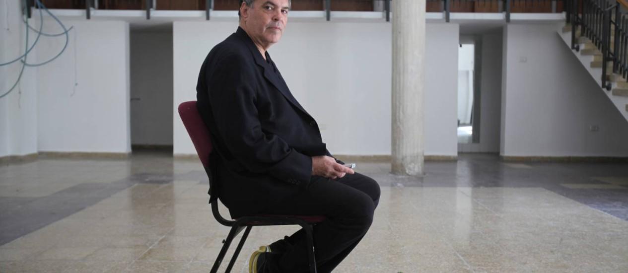 AMOS GITAI no Gitai Architecture Museum (GAM), construído no antigo ateliê de seu pai: local vai abrigar exposições a partir de setembro Foto: Divulgação