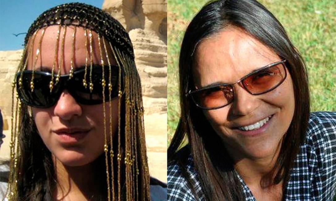Sara Lima Silvério, de 18 anos, e a amiga Zélia Magalhães de Mello, de 45, haviam saído do Cairo e tomado uma estrada rumo ao Monte Sinai. Foto: Reprodução internet