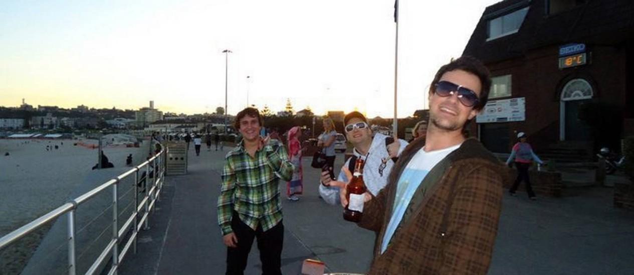 O estudante Roberto Laudisio foi morto por policiais australianos, em Sydney Foto: Reprodução internet