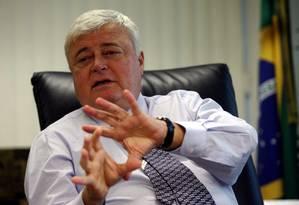 Ricardo Teixeira deixou seu cargo no Comitê Executivo da Fifa Foto: Jorge William / 25.02.2008 / O Globo