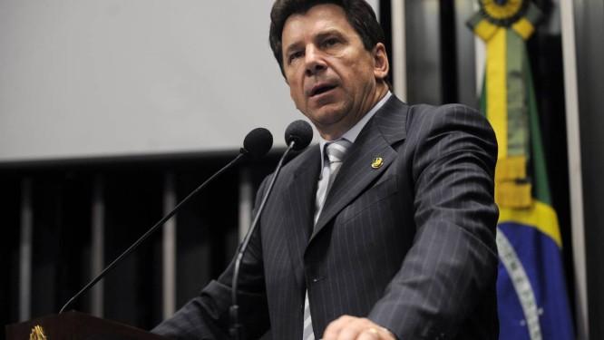 Em discurso na tribuna do Senado, senador Ivo Cassol (PP-RO) Foto: Agência Senado