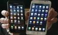 Smartphones Galaxys, da Samsung