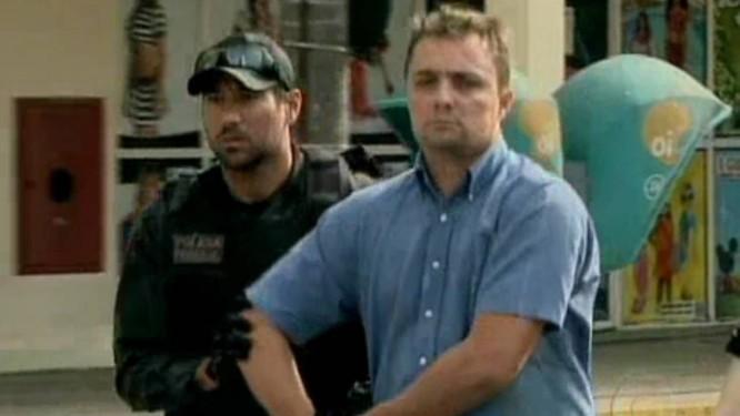 Emerson Rodrigues foi preso por criar site de apologia a crimes Foto: Reprodução TV