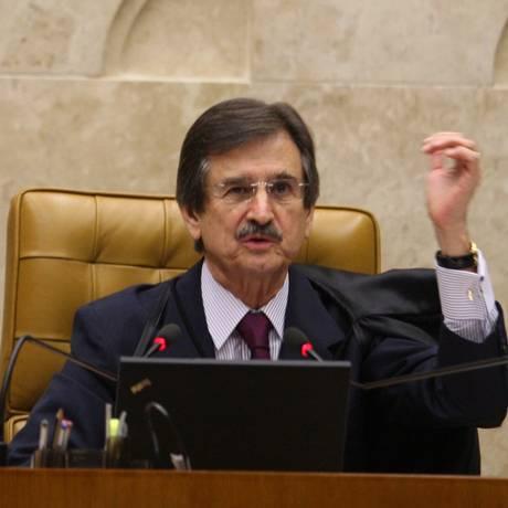 Julgamento de aborto de anencéfalos deverá ser um dos últimos temas de grande repercussão julgados pelo STF na gestão de Cezar Peluso Foto: O Globo 2/2/2012 / Ailton de Freitas