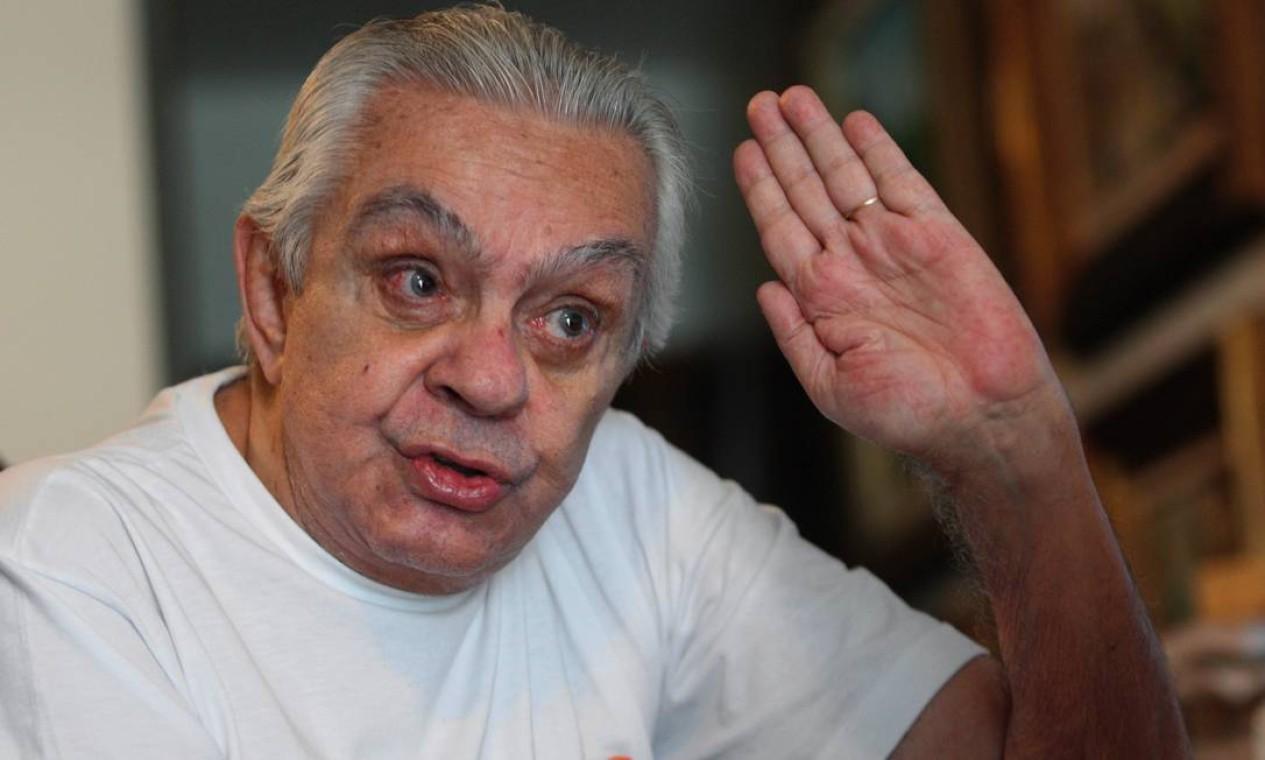 Francisco Anysio de Oliveira Paula Filho nasceu em 12 de abril de 1931, em Maranguape, no Ceará, e veio para o Rio de Janeiro, com a família, aos 7 anos Foto: Fábio Guimarães / Extra