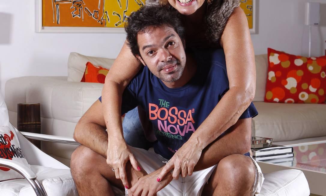 Alcione Mazzeo é mãe de Bruno Mazzeo Divulgação / Divulgação