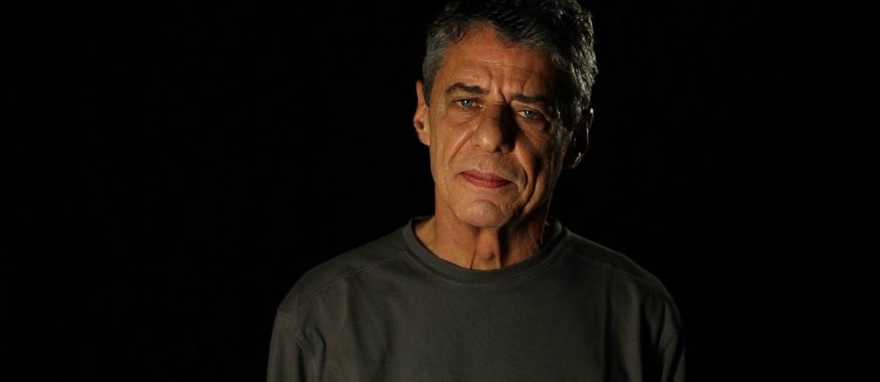 O músico Chico Buarque pensou em ser arquiteto na juventude Foto: Divulgação