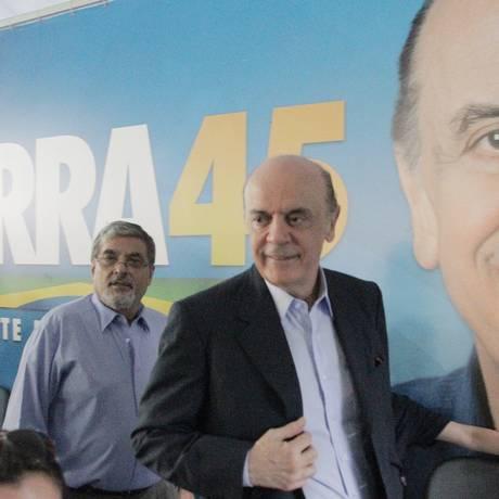Serra é o favorito na disputa pela candidatura do PSDB à prefeitura de São Paulo Foto: O Globo/ 29/2/2012 / Eliária Andrade
