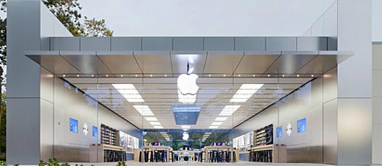 Loja da Apple em Manhasset, em Long Island, NY Foto: Divulgação