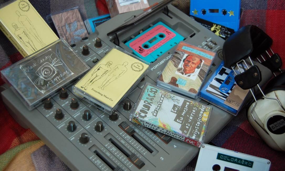 50 anos das fitas cassete - Pug Records, gravadora mineira que só lança fitas K7 Foto: Divulgação