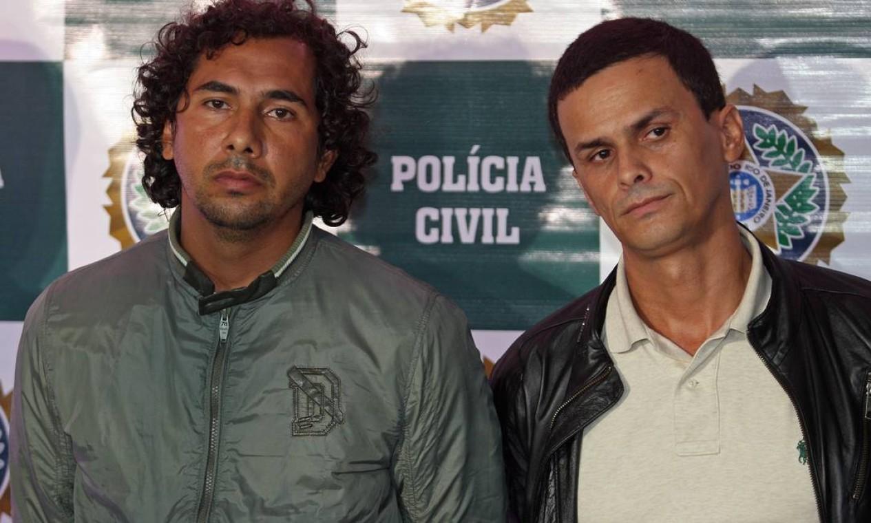 Mas foi apenas em janeiro deste ano, mais de um ano após a ocupação do Alemão, que o chefe do tráfico da região, Fabiano Atanázio, o FB, foi preso. Ele estava escondido em São Paulo Foto: Urbano Erbiste / Extra (arquivo)