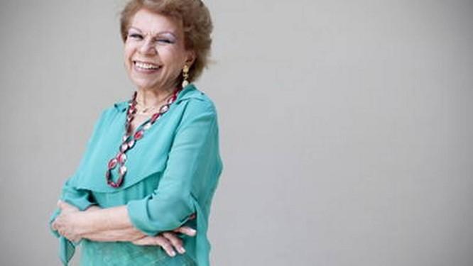 Ademilde Fonseca, a rainha do chorinho, continuava em atividade Foto: Simone Marinho