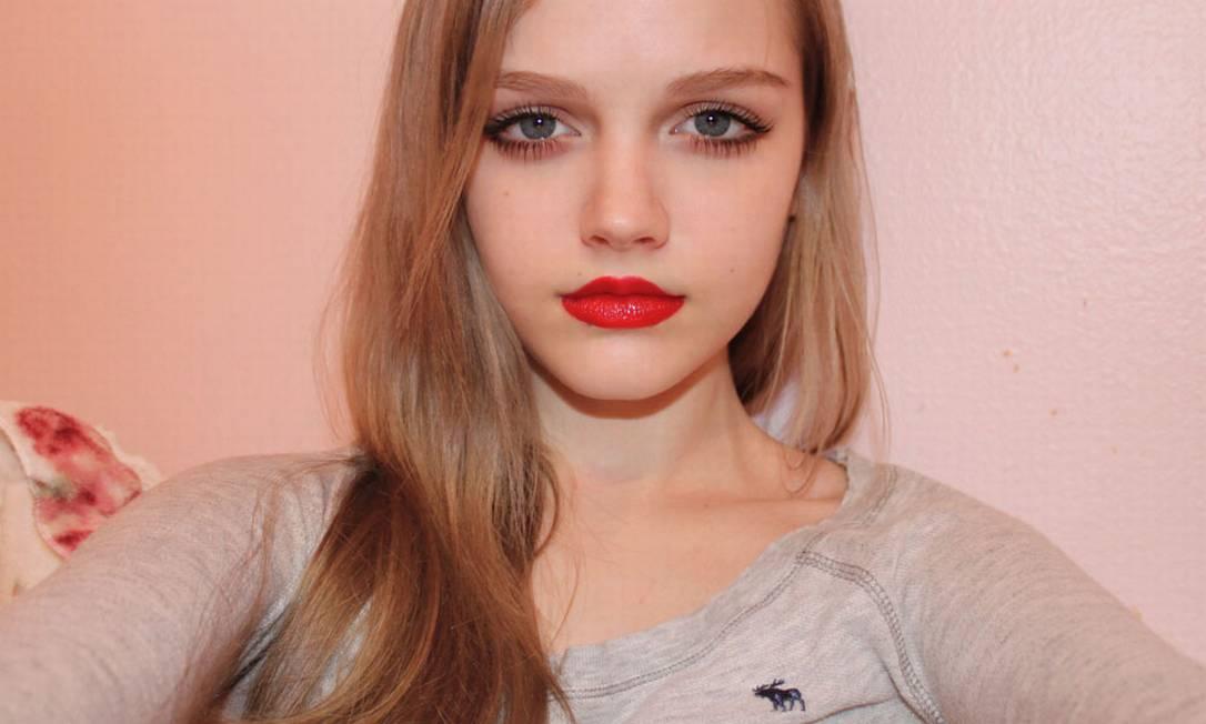 A americana Dakota Rose usa o apelido Kota Koti na internet Reprodução
