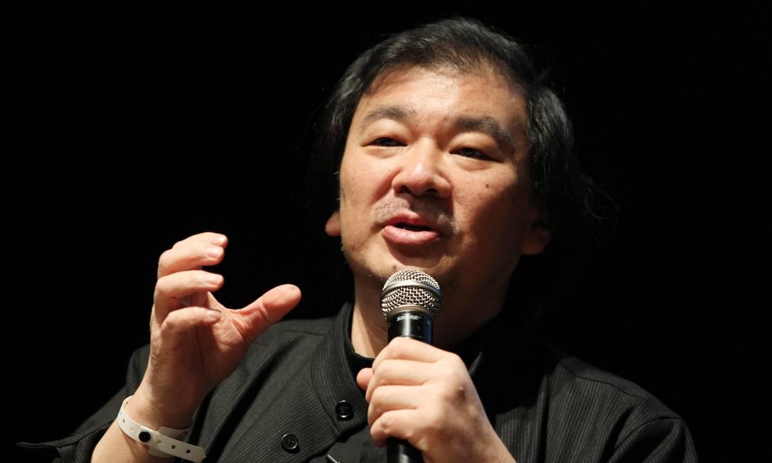 Shigeru Ban, arquiteto Japonês que participa do Ar.q. Futuro Foto: Márcia Foletto / O Globo